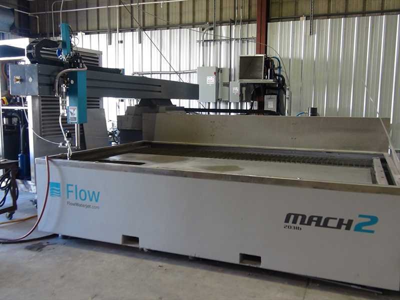 Steel-cutting Water Jet