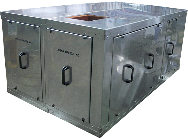 244,000 BTU Makeup Fresh Air Fancoil or Air Handler