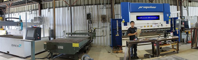 Ocean Breeze Sheet Metal Shop